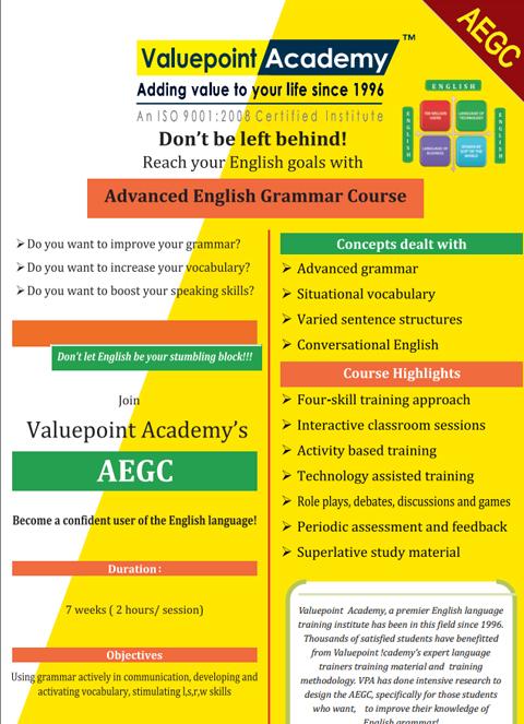 Advanced English Grammar Course