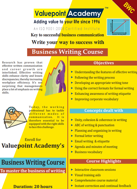 Business Writing Course
