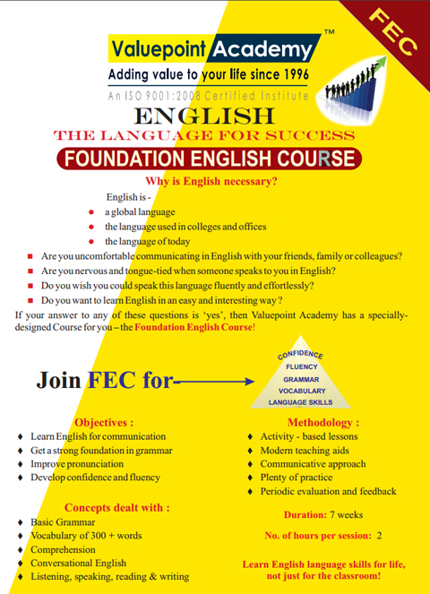 Foundation English Course