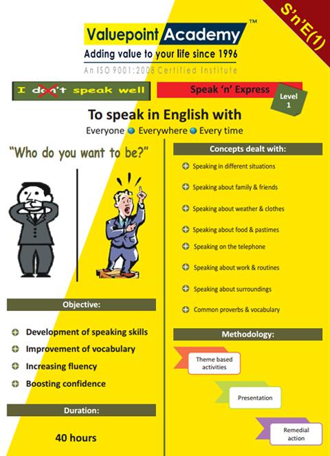 Speak 'n' Express Course1
